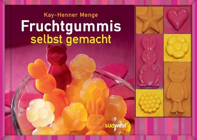 Fruchtgummis selbst gemacht-Set: Buch mit Förmchen -  - Taschenbuch, Deutsch, Kay-Henner Menge, ,