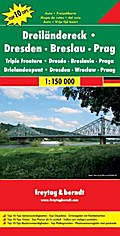 Dreiländereck Dresden - Breslau - Prag 1 : 150 000