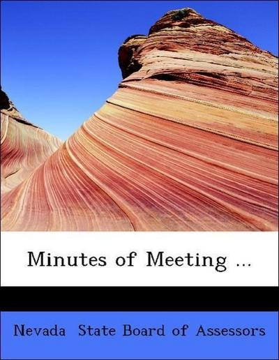 Minutes of Meeting ...