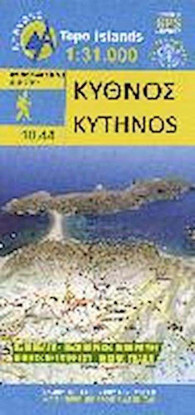 Hiking Map Wanderkarte Kythnos 1 : 31.000