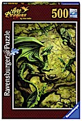 Walddrache by Anne Stokes. Puzzle 500 Teile