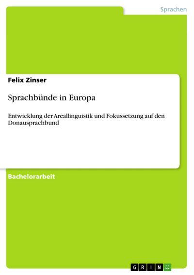 Sprachbünde in Europa