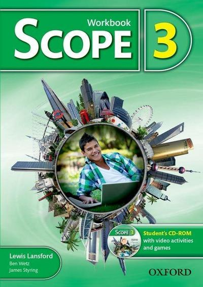 Scope: Level 3. Workbook with Student's CD-ROM (Pack)