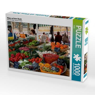 Nizza auf dem Markt (Puzzle)