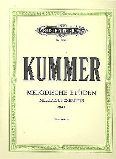 10 melodische Etüden op.57für Violoncello