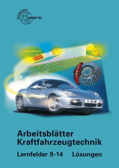 Arbeitsblätter Kraftfahrzeugtechnik Lösungen zu 2281X