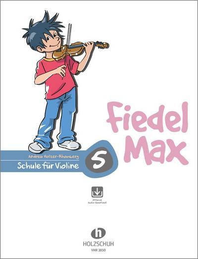 Fiedel-Max für Violine  - Schule, Band 5
