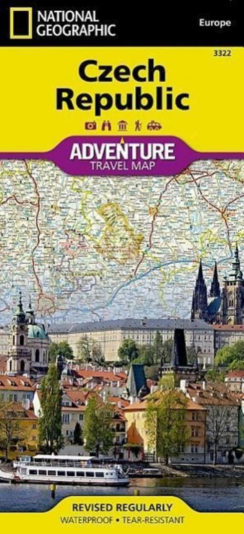 Czech Republic National Geographic Maps - Adventure