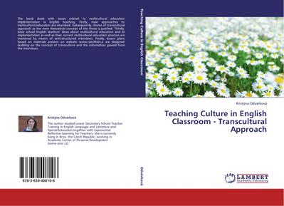 Teaching Culture in English Classroom - Transcultural Approach