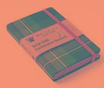 Holyrood: Waverley Genuine Tartan Cloth Commonplace Notebook