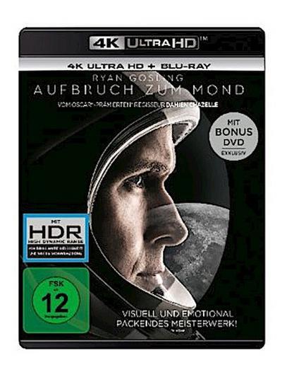 Aufbruch zum Mond 4K, 3 UHD-Blu-ray