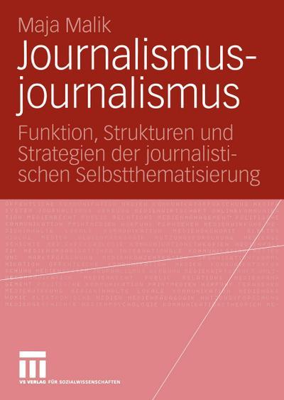 Journalismusjournalismus