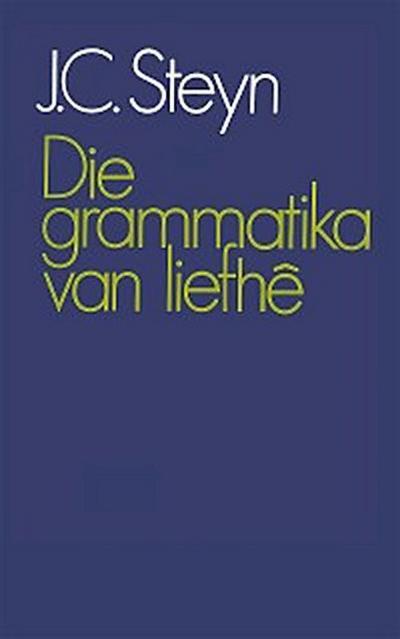 Die grammatika van liefhê