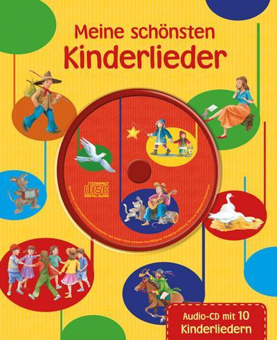 Meine schönsten Kinderlieder mit CD (Liederbuch mit CD)