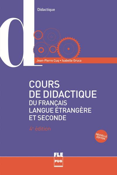 Cours de didactique du français langue étrangère et seconde: Buch