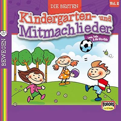 Die 20 schönsten Kindergarten- und Mitmachlieder, Vol. 2: Bewegen