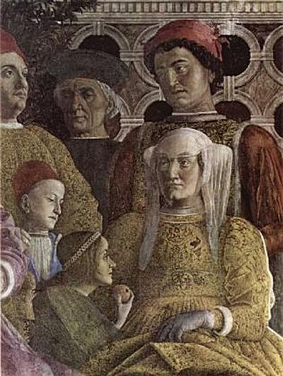 Andrea Mantegna - Der Hof der Gonzaga - 200 Teile (Puzzle)