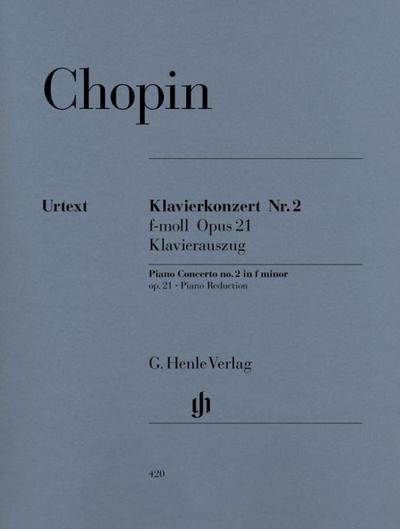 Klavierkonzert Nr. 2 f-moll Opus 21