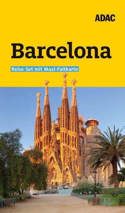ADAC Reiseführer plus Barcelona: mit Maxi-Faltkarte zum Herausnehmen