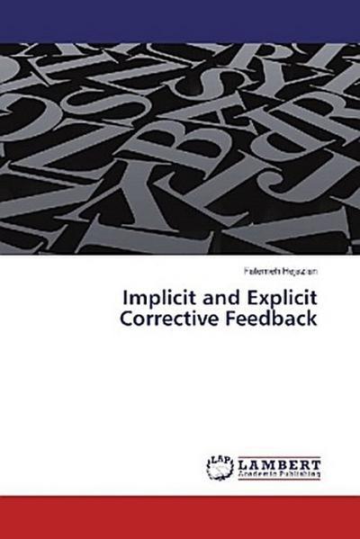 Implicit and Explicit Corrective Feedback
