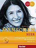Menschen hier. Prüfungstraining Deutsch-Test für Zuwanderer mit Audio-CD