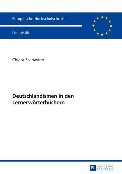 Deutschlandismen in den Lernerwörterbüchern