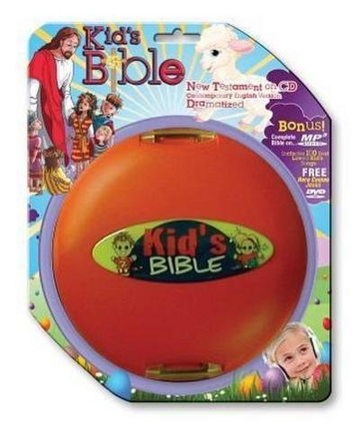 Kid's New Testament-CEV [With Here Comes Jesus and Kid's Bible]