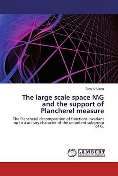 The large scale space NG and the support of Plancherel measure