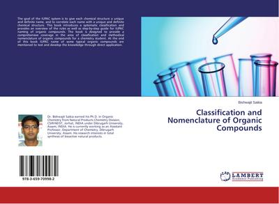 Classification and Nomenclature of Organic Compounds