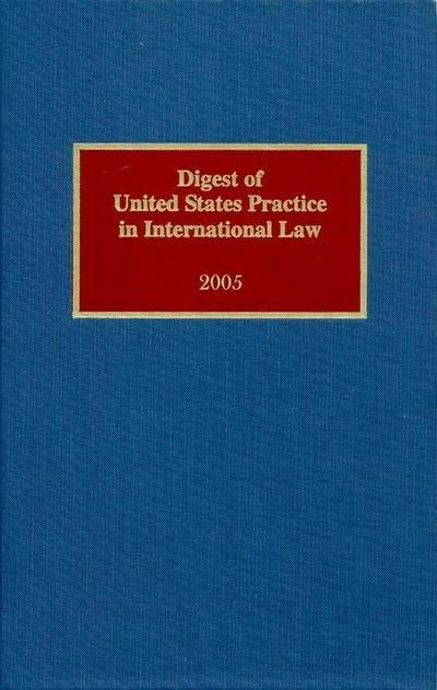 Digest of United States Practice in International Law