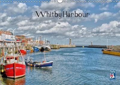 Whitby Harbour (Wall Calendar 2019 DIN A3 Landscape)