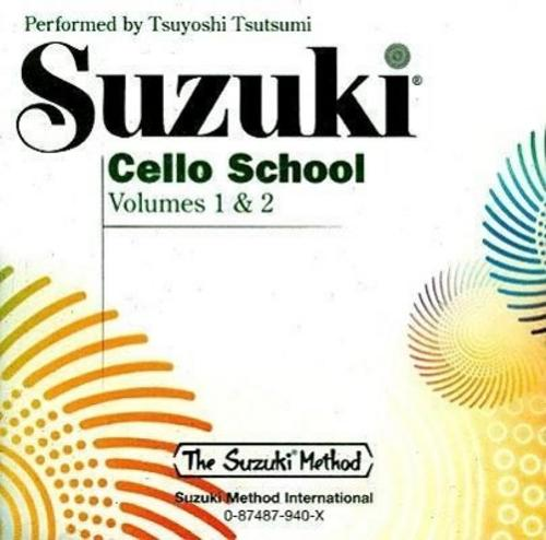 Suzuki Cello School CD 1+2 Shinichi Suzuki