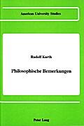 Philosophische Bemerkungen