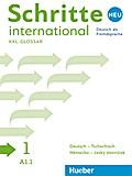 Schritte international Neu 1. Glossar XXL Deutsch-Tschechisch - Nemecko-ceský slovnícek