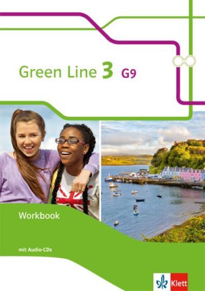 Green Line 3 G9: Workbook mit 2 Audio-CDs Klasse 7 (Green Line G9. Ausgabe ab 2015)