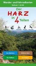 Der Harz in 4 Teilen. Kartenset 1 : 30 000