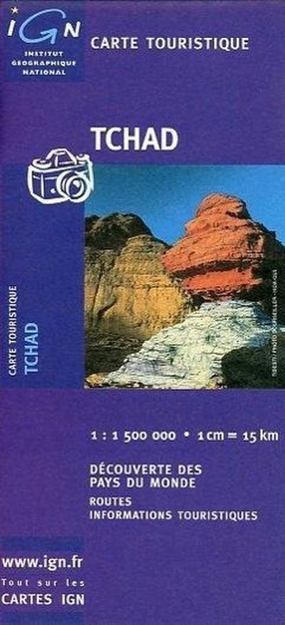 Tschad 1 : 1 500 000