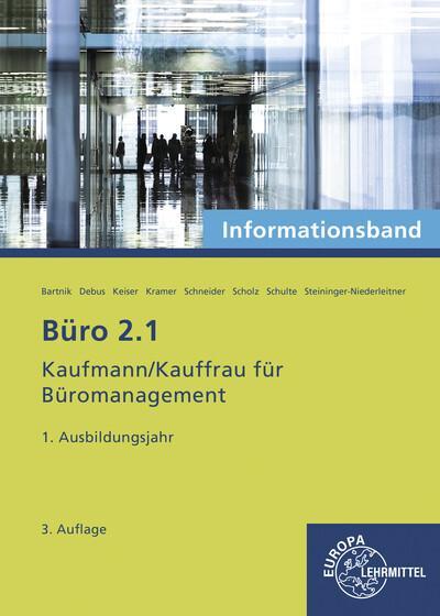 Büro 2.1 - Informationsband - 1. Ausbildungsjahr