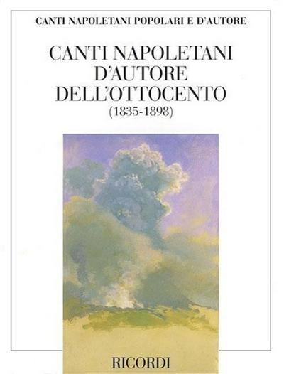 Canti Napoletani D'Autore Dell'ottocento: Per Voce E Pianoforte