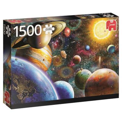 Planeten im Weltall (Puzzle)