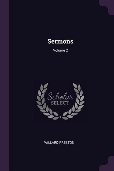 Sermons; Volume 2
