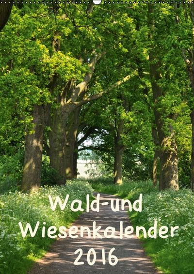 Wald- und Wiesenkalender 2016 Planer (Wandkalender 2016 DIN A2 hoch): Ein Kalender für NaturliebhaberInnen mit wunderschönen Wald -und Wiesenbildern. (Planer, 14 Seiten) (CALVENDO Natur)
