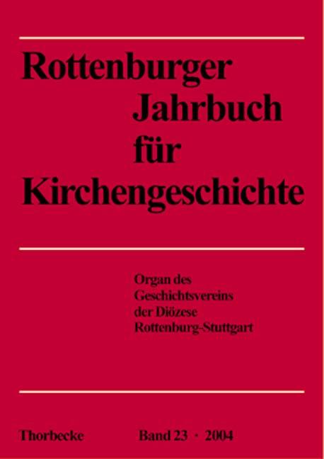 Rottenburger Jahrbuch für Kirchengeschichte