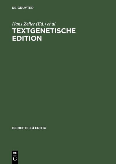 Textgenetische Edition