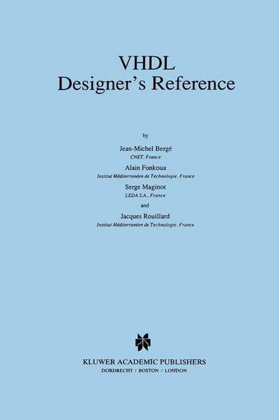 VHDL Designer's Reference