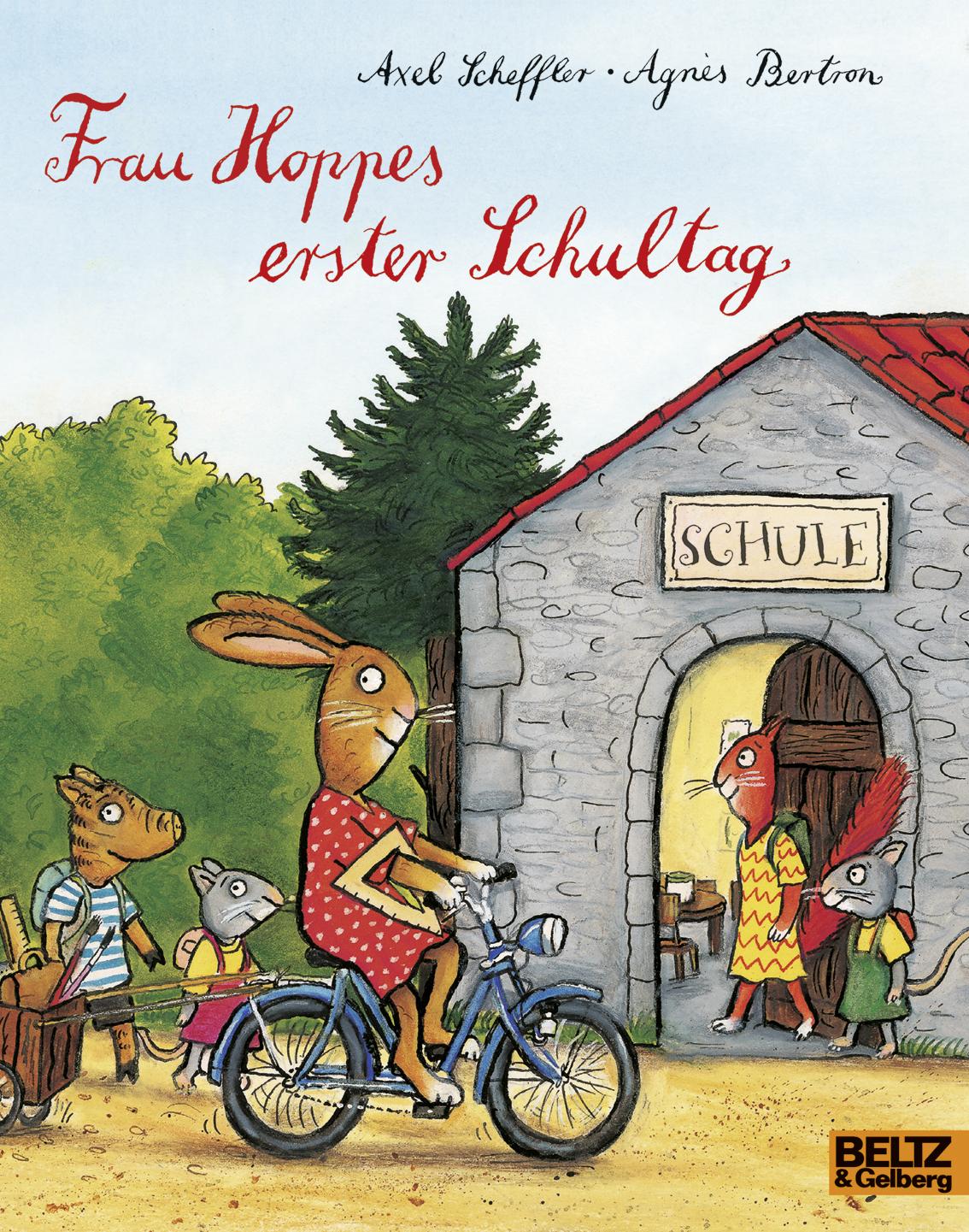 Frau Hoppes erster Schultag, Axel Scheffler