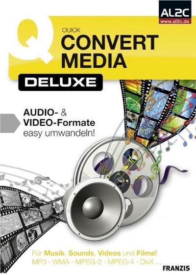 Quick Convert Media Deluxe, 1 CD-ROM
