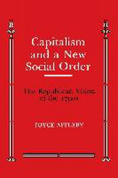 Capitalism and a New Social Order