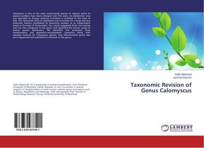 Taxonomic Revision of Genus Calomyscus