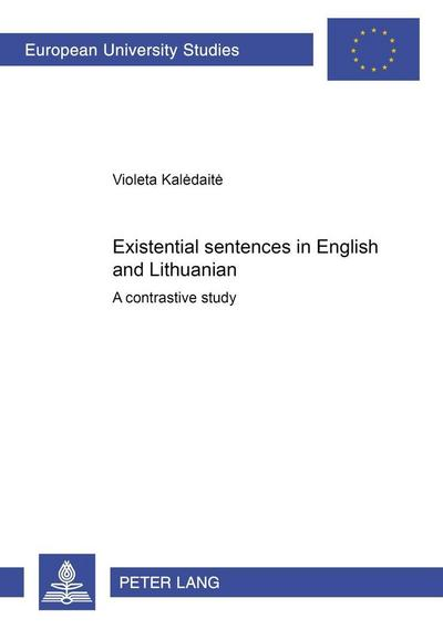 Existential sentences in English and Lithuanian